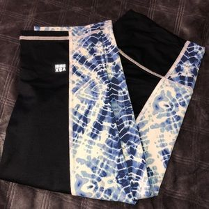 victoria's secret sport capri leggings